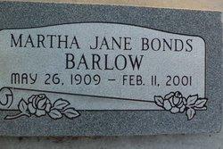 Martha Jane <i>Bonds</i> Barlow