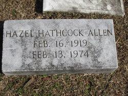 Hazel <i>Hathcock</i> Allen