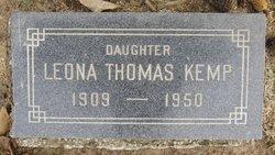 Leona <i>Thomas</i> Kemp