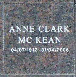 Ann Clark McKean