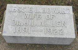 Jessie Lura <i>Howard</i> Allen