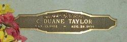 Charles Duane Taylor