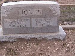 Ella <i>Wernli</i> Jones