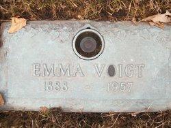 Emma <i>Wolfe</i> Voigt
