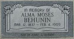Alma Moses Behunin