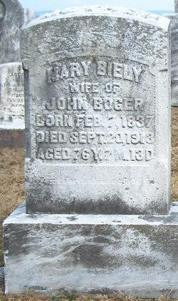 Mary <i>Biely</i> Boger