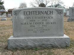 John F Echternach