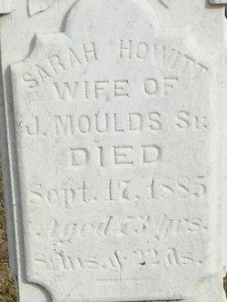 Sarah <i>Howitt</i> Moulds