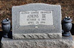 Alonzo Franklin Lonnie Adkins, III
