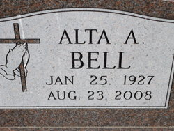 Alta A. <i>Coakley</i> Bell