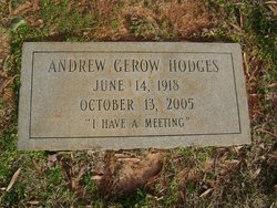Andrew Gerow Hodges, Sr