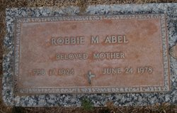 Robbie Mae <i>Keller</i> Abel