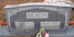 Mary Jean <i>Whitley</i> Beach