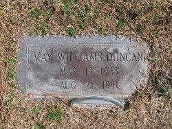 May <i>Williams</i> Duncan