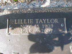 Lillie <i>Taylor</i> Gaddy