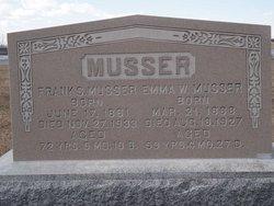 Emma Weidler <i>Hess</i> Musser
