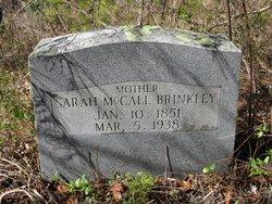 Sarah <i>McCall</i> Brinkley