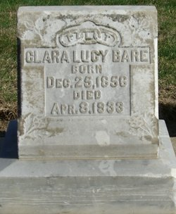 Clara Lucy <i>Parker</i> Bare
