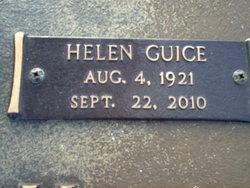 Helen <i>Guice</i> Cook