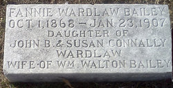 Fannie Connally <i>Wardlaw</i> Bailey