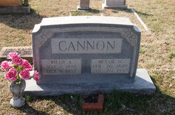 Bessie Gertrude <i>Hall</i> Cannon