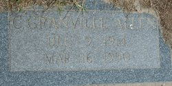 C Granville Allen