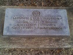 Minnie Mae <i>Willhite</i> Ronsick