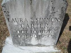 Laura <i>Simmons</i> Carter