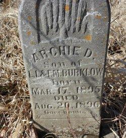 Archie D. Burklow