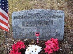 Louise F <i>Olmstead</i> Baldwin