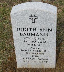 Judith Ann <i>Ancell</i> Baumann