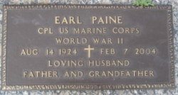 CPL Earl Paine