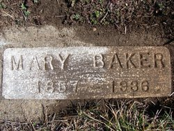 Mary Marie <i>Davis</i> Baker