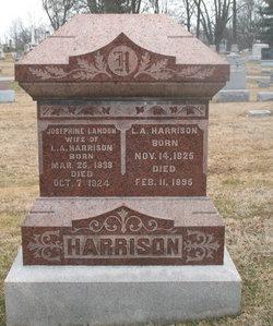 Josephine A <i>Landon</i> Harrison