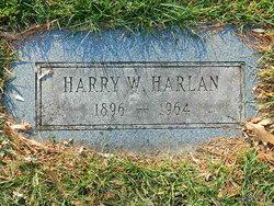 Harry W. Harlan