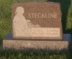 Francizska Frances <i>Kappel</i> Steckline