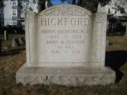 Annie M <i>Denison</i> Bickford