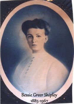Bessie May <i>Greer</i> Shipley