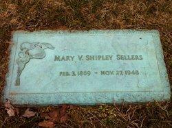 Mary Virginia Jennie <i>Stanton</i> Shipley Sellers
