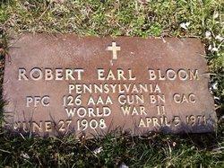 Robert Earl Bloomy Bloom