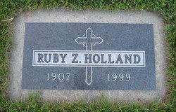 Ruby Z <i>Bozarth</i> Holland