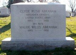 Gen Clyde Rush Abraham