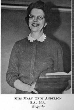 Mary Trim Anderson
