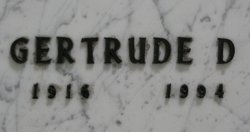 Gertrude D. Winderl