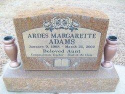 Ardes Margarette Adams