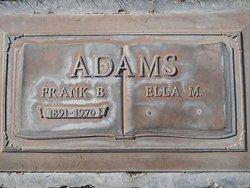 Ella M. Adams