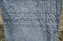 Stephen Fox, Sr