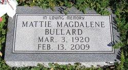 Mattie Magdalene <i>O'Neal</i> Bullard