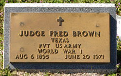 Judge Fred Brown
