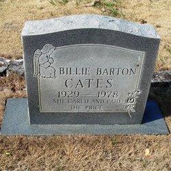 Billie <i>Barton</i> Cates